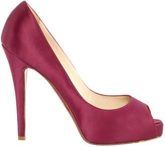 Christian Louboutin Very Privé cloth heels