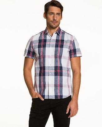 Le Château Check Cotton Slim Fit Shirt