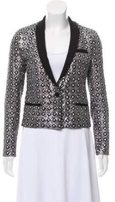 The Kooples Sequin-Embellished Blazer