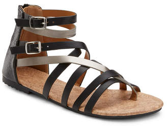 OLIVIA MILLER Modern Romance Two Tone Sandals Women Shoes