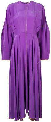 Natasha Zinko scalloped trim dress
