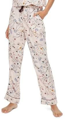Topshop Sketchy Floral Pajama Pants