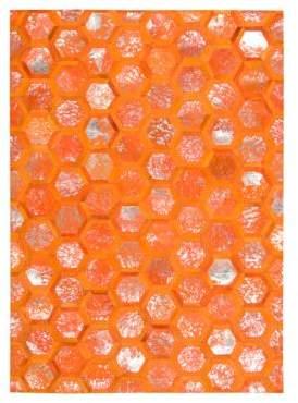 City Chic Michael Amini Rug Collection- Tangerine