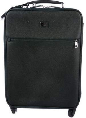 Dolce & Gabbana Dauphine Leather Carry-On