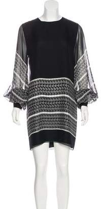 Thomas Wylde Printed Silk Dress