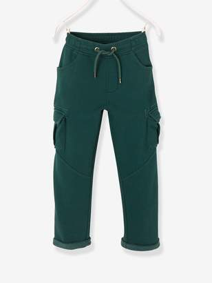 Vertbaudet Straight Cut Cargo Trousers for Boys