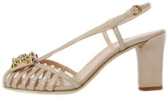 Gianna Meliani Studded Nude Sandal