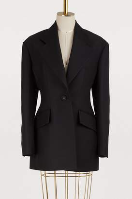 Proenza Schouler Fitted wool blazer