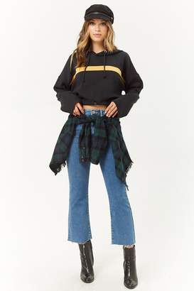 Forever 21 High-Rise Flare Jeans