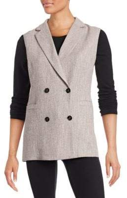 Eleventy Four-Button Long Vest