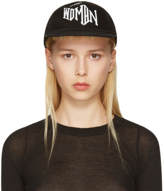 Off-White Black Typography Cap $135 thestylecure.com