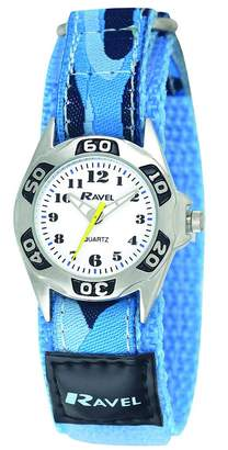 Ravel Children's Camouflage Army Watch with Action Secure Strap