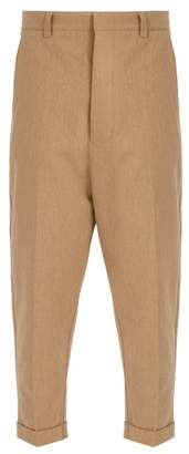 Ami - Oversized Chino Trousers - Mens - Camel