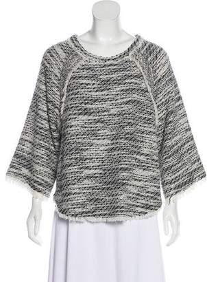 IRO Tweed Long Sleeve Top