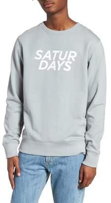 Saturdays NYC Bowery Gothic Sweatshirt