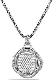 David Yurman Infinity Large Pendant with Diamonds