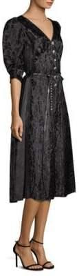 Marc Jacobs Puff Sleeve Brocade Dress