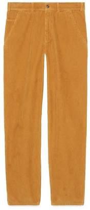 Gucci Washed corduroy pant