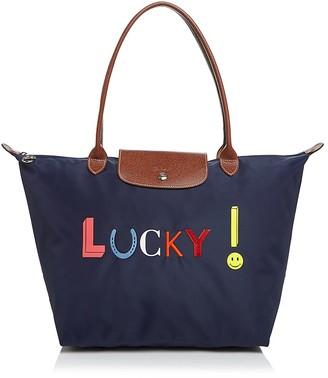 Longchamp Le Pliage Lucky Shoulder Tote $180 thestylecure.com