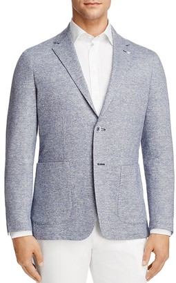 Canali Washed Linen Cotton Regular Fit Sport Coat $895 thestylecure.com