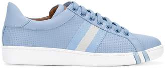 Bally micro perforated sneakers