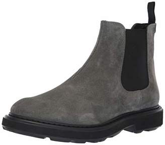 Emporio Armani Men's Casual Chelsea Boot Construction Shoe