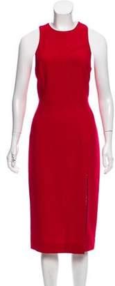 Tamara Mellon Wool Midi Dress