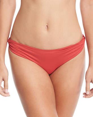 Marysia Swim Venice Twisted-Side Swim Bikini Bottom