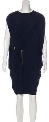 Lanvin Draped Mini Dress