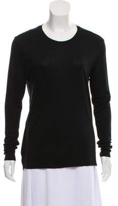 Helmut Lang Open Back Scoop Neck Top