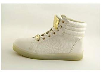 Bebe Womens Keene Hight Top Lace Up Fashion Sneakers.