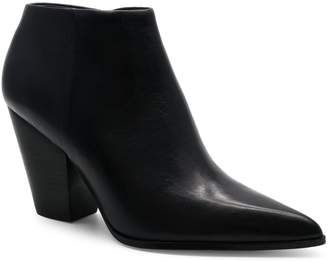 Calvin Klein Point-Toe Leather Booties