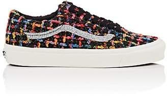 Vans Women's OG Old Skool LX Tweed Sneakers - Black