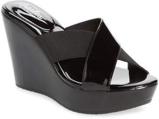 Charles by Charles David Fuzho Platform Wedge Sandal