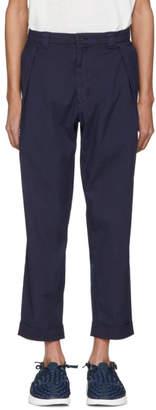 Blue Blue Japan Indigo Hand Dyed TC Weather Trousers