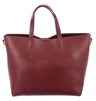 Tom Ford Perforated Logo Tote w/ Tags