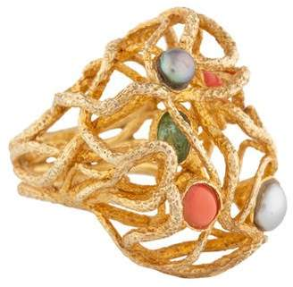 Alexis Bittar Intertwined Bombé Ring