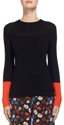 Whistles Colour Block Sweater $180 thestylecure.com