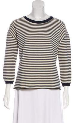 Giada Forte Striped Long Sleeve Top