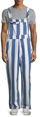 Levi's Striped Silvertab Cotton Overall