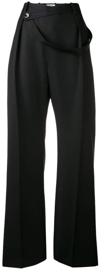 loose tailored trousers
