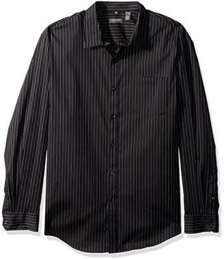 Van Heusen Men's Traveler Stretch Non Iron Long Sleeve Button Down Shirt