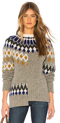 Joseph Patchwork Sweater
