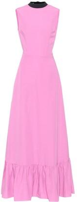 REJINA PYO Long Ella linen-blend dress