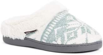 Muk Luks Women's Briar Chenille Scuff Slippers