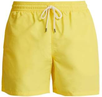 Polo Ralph Lauren Logo Embroidered Swim Shorts - Mens - Yellow