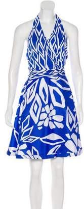 Diane von Furstenberg Amelia Silk-Blend Dress