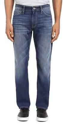 Mavi Jeans Marcus Straight Slim Fit Jeans in Dark Brushed Williamsburg