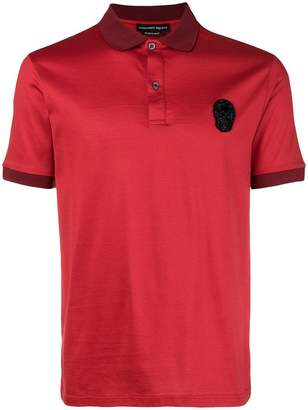 Alexander McQueen short sleeved polo shirt