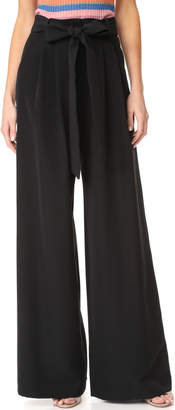 Milly Trapunto Trousers $395 thestylecure.com